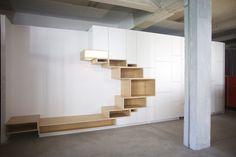 by Filip Janssens Home Decor Furniture, Furniture Design, Interior Architecture, Interior And Exterior, Muebles Living, Bookshelf Design, Shelving, Living Room Decor, House Design