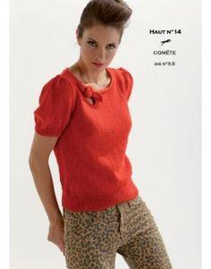 Modèle Haut CB18-14- Patron tricot gratuit