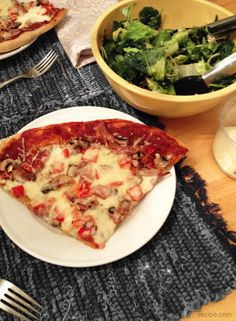 How to Make Pizza Night Healthy!