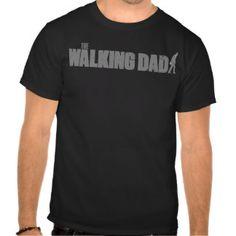El zombi del día de padre del PAPÁ QUE CAMINA (en Camisetas Camiseta Negra e334a0c60f437