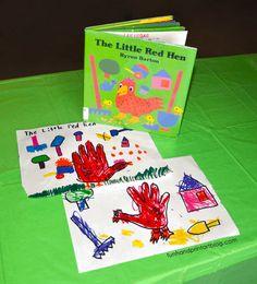 Preschool Books, Kindergarten Activities, Preschool Crafts, Toddler Activities, Preschool Activities, Fairy Tale Crafts, Fairy Tale Theme, Fairy Tales, Little Red Hen Activities