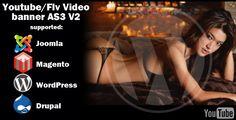 Video banner  youtube/flv As3 V2