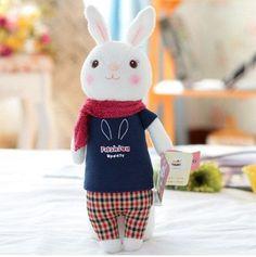 "Rabbit Stuffed Toy (Animal Plush Toy /Baby Soft Toy /Doll Gift) [14"" /35cm]"
