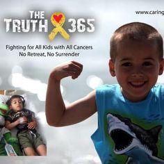 Billy Jr beating neuroblastoma.