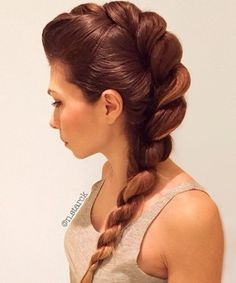 Rope Braid Hairstyles for Women. Awesome Rope Braid Hairstyles for Women. Rope Braid Hairstyles 20 Cute Ideas for 2019 Cool Braid Hairstyles, Box Braids Hairstyles, Pretty Hairstyles, Wedding Hairstyles, Bridesmaid Hairstyles, Hairstyle Ideas, Hairstyles 2016, Updo Hairstyle, Latest Hairstyles