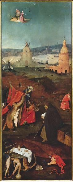 Verzoeking van de heilige Antonius (Jheronimus Bosch) | Bosch500