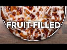 (11) 6 Heavenly Fruit-Filled Pastries - YouTube