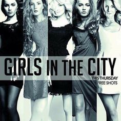 TONIGHT!!! 22:00,  GIRLS IN THE CITY at OldCity Club ~ Selari nr.14 !!!