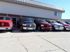 Ram Trucks at our dealership. 10-10-2013