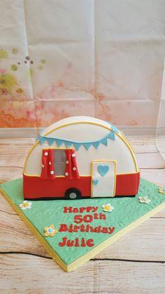 Caravan cake
