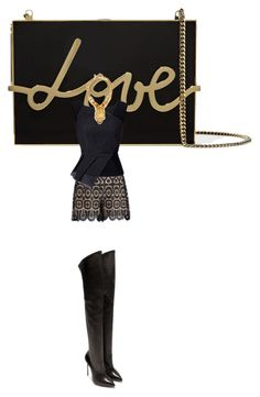 """""""Untitled #1415"""" by kohlanndesigns ❤ liked on Polyvore featuring мода, Lanvin, Zimmermann, Roland Mouret, Casadei и Alexander McQueen"""