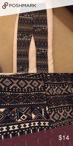 Selling this Tribal Leggings on Poshmark! My username is: emmaeleanora. #shopmycloset #poshmark #fashion #shopping #style #forsale #Vision #Pants