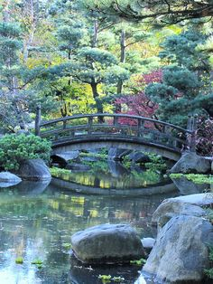Japanese Garden Bridge by Cher12861, via Flickr