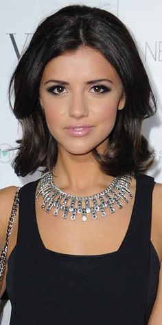 Lucy Mecklenburgh at Nadine Merabi show, Manchester, 4 April 2013 nice hair