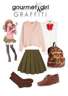 Check out this yummy outfit, inspired by Gourmet Girl Graffiti!