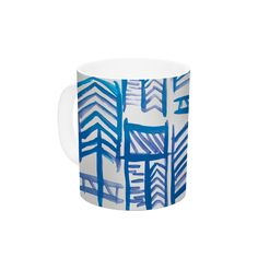 "Theresa Giolzetti ""Quiver II"" Ceramic Coffee Mug"