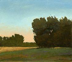 Pintura de paisaje del aceite de orujo de Bohne - Midwest
