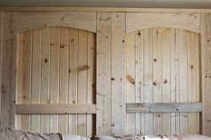 how to build a rustic barn door headboard, bedroom, carpentry  woodworking, design d cor, We added 2 x 4 trim boards to each side and the top for extra detail