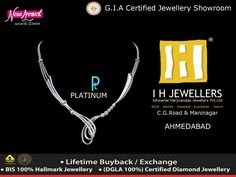 12-Sep-2015 Platinum Official Retailer  #PlatinumJewelry #Platinum  #IHJEWELERS #AHMADABAD #GOLDORNAMENTS  http://www.ihjewellers.com/about.php