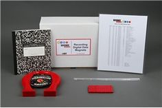 "You click ""save,"" and your file is stored on a magnetic disk drive. How is this information recorded? In the ""Rock On! Recording Digital Data with Magnets"" electronics #science project, students explore the process of digitizing data using magnets to see how files are saved and erased. A project kit is available to do this science project! [Source: Science Buddies, http://www.sciencebuddies.org/science-fair-projects/project_ideas/Elec_p026.shtml?from=Pinterest] #STEM #scienceproject"