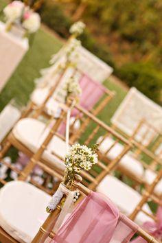 Pink, lace, & burlap wedding theme  |  julie irene photography