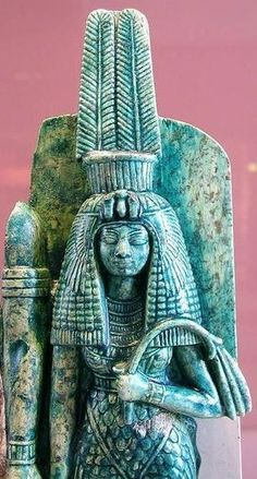 Queen Tiye. Royal wife of Amenhotep III and the mother of Pharaoh Akhenaton. (18th Dynasty)