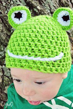 Ravelry: Happy Frog Hat pattern by April Hudson