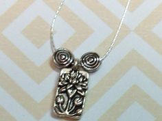 Sterling silver necklace by MyFavoriteAccessory on Etsy, $18.00