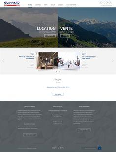 Stratégie digitale   Web Design   Expérience utilisateur   Digital Design #digitalstrategy #UXdesign #webdesign #valais Web Design, Location, Desktop Screenshot, Studio, User Experience, Tourism, Design Web, Studios, Website Designs