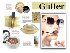 """""""glitter lips"""" by sofia-624 ❤ liked on Polyvore featuring beauty, Bite, Fendi, Lulu Guinness, Burberry and Chanel"""