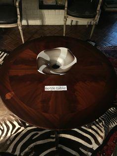 notre table en bois