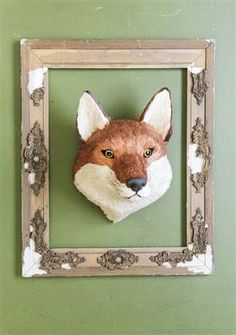 "Frederick The Sisal Fox Head -  Our favorite funky farmhouse friend....for obvious reasons.  He stole our hearts....and will win yours, too!  Absolutely.Positively.Perfect.Frederick measures 9 3/4"" x 12 1/2""Frederick has been a popular guy and is out of stock until July, 2015. If you would like one special ordered and reserved for you, go ahead and order and this guy will arrive at your door in July. We promise... he is worth the wait!"