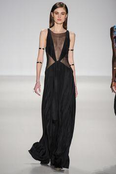 La robe portefeuille du défilé Jenny Packham à New York
