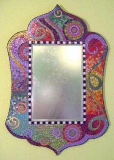 mosaic mirror - Google Search