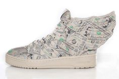 "sports shoes 543c4 73421 adidas Originals by Jeremy Scott JS Wings 2.0 ""Money"""