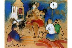 Chichorro - ipvc.pt African, Illustration, Portugal, Painting, Design, Art, Art Background, Illustrations, Painting Art