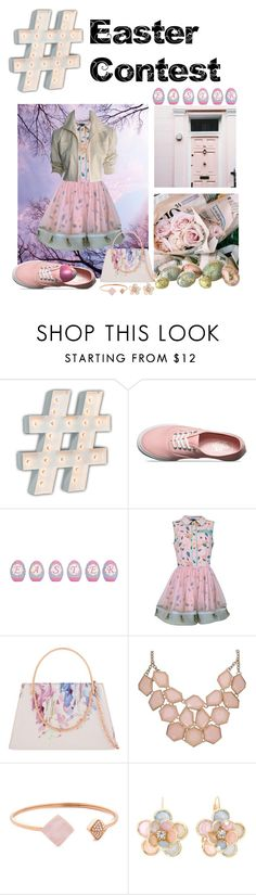"""""""Easter Contest"""" by starspy ❤ liked on Polyvore featuring Vintage Marquee Lights, Vans, Supersweet, Ted Baker, Michael Kors, Mixit and YSL RIVE GAUCHE"""
