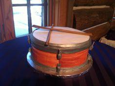 Drummer's groom cake