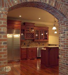 Brick Arched Garage Doors Home Ideas Pinterest