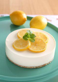 Honey & lemon cheesecake
