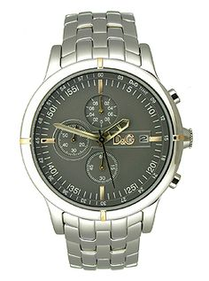 hermes men s clipper automatic chronograph stainless steel dolce gabbana dw0480 oxford mens watch originalwatchstore com
