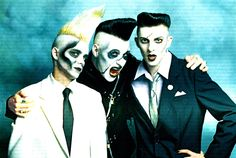 Zombie Ghost Train What do you get when a greaser. Psychobilly Bands, Psychobilly Style, Good Music, My Music, Gothic Furniture, Gothabilly, Vintage Horror, Punk Goth, My Favorite Music