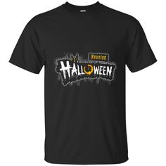 Halloween T shirts Haunted Hoodies Sweatshirts