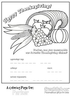 86 Best Thanksgiving & Christmas Coloring & Painting Pages