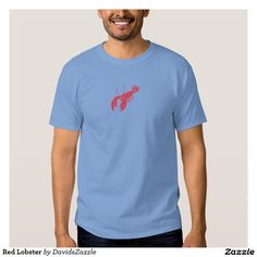 Red Lobster Men's Tee  Available on many more products! Use the search bar on my Zazzle products page, type in the name of the design to see all products.  #lobster #red #illustration #tee #t-shirt #hoody #sweatshirt #style #fashion #gear #apparel #men #women #life #lifestyle #cool #chic #tops #zazzle #buy #sale #ocean #nature #planet #earth #creature #sea #crawl #claw #fish #swim #swimming #water