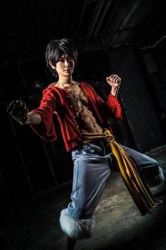 Monkey D. Luffy cosplay - One Piece
