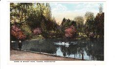 Tacoma Washington Vintage Postcard unused by PicturesFromThePast