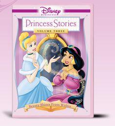"Disney Princess Stories Volume Three: Beauty Shines From Within DVD - Walt Disney Studios - Toys ""R"" Us Disney Princess Lineup, Disney Princess Stories, Disney Movie Club, Anna Disney, Princess Movies, Disney Princess Dolls, Princess Photo, Disney Princess Pictures, Disney Princess Dresses"