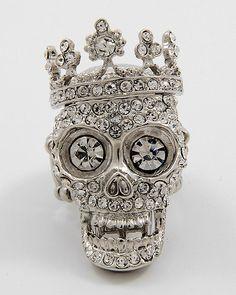 Skull Stretch Ring