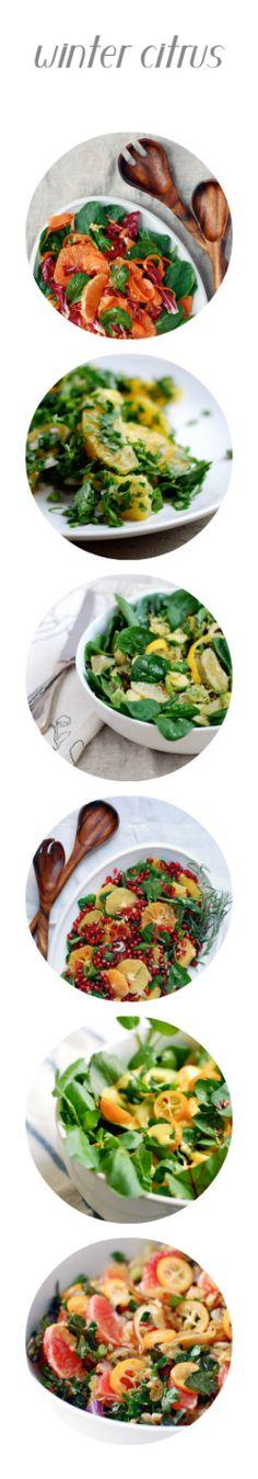 Winter Citrus Salad by brooklynsupper: A little bit grain, a little bit veggie, a little bit fruit, a lot delicious. #Salad #Citrus #Healthy